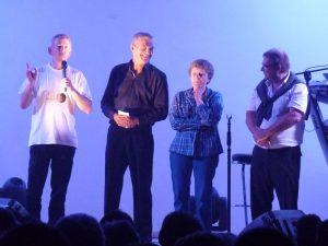 De g. à d. : Pierre Lemarchal, Brigitte Pailhé-Fernandez et Bernard Prat