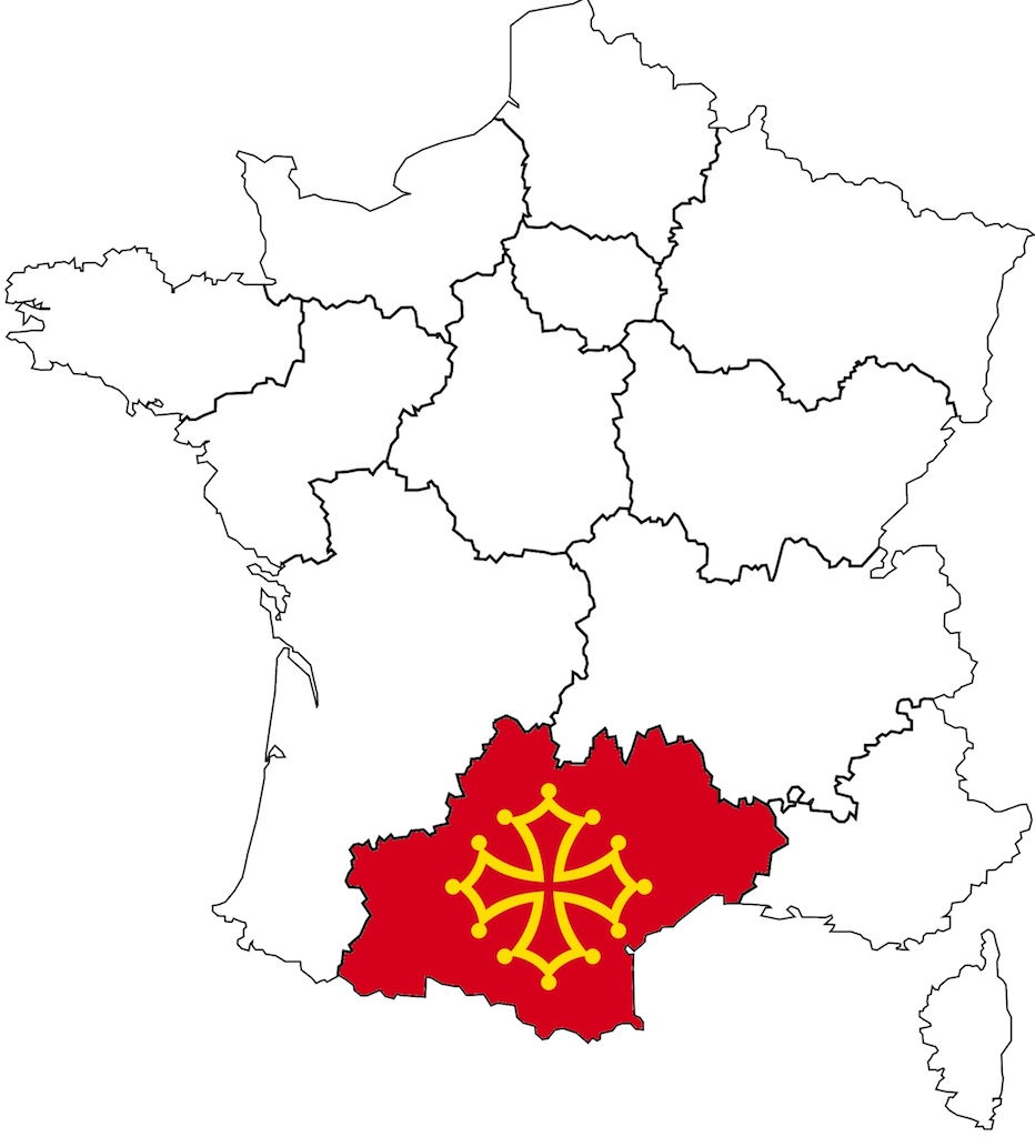 carte de france occitanie